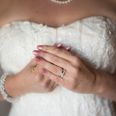 salem oregon wedding photographer bride dress ring elegant
